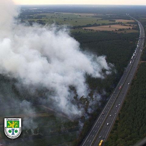 ba3 - Großbrand außerorts